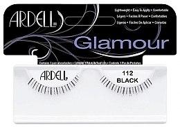 Künstliche Wimpern - Ardell Glamour Eyelashes Black 112 — Bild N2