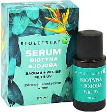Düfte, Parfümerie und Kosmetik Haarserum gegen Haarausfall mit Biotin und Jojoba - Bioelixire Serum Biotin & Jojoba