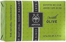 Düfte, Parfümerie und Kosmetik Naturseife mit Olive - Apivita Natural Soap with Olive