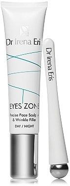 Augenkonturcreme-Filler + Massagegerät - Dr Irena Eris Eyes Zone Precise Face Sculptor & Wrinkle Filler — Bild N2