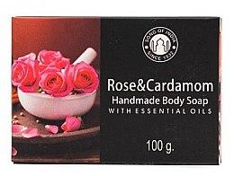 Düfte, Parfümerie und Kosmetik Seife Rose und Kardamom - Song of India Soap Rose & Cardamon