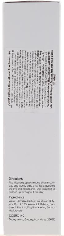 Mildes Gesichtstonikum mit Indischem Wassernabel - Cosrx Centella Water Alcohol-Free Toner — Bild N2