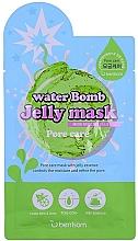Düfte, Parfümerie und Kosmetik Porenstraffende Gesichtsmaske mit Minze und Limette - Berrisom Water Bomb Jelly Mask Pore Care