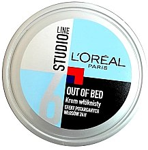 Düfte, Parfümerie und Kosmetik Modellierende Haarcreme - L'Oreal Paris Studio Line Out of Bed Cream