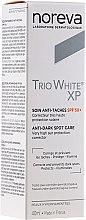 Düfte, Parfümerie und Kosmetik Gesichtscreme gegen Pigmentflecken SPF 50+ - Noreva Laboratoires Trio White XP Anti-Dark Spot Care SPF 50+