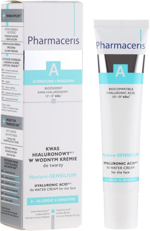 Gesichtscreme mit Hyaluronsäure für empfindliche und allergische Haut - Pharmaceris A Hyaluro-sensilium — Bild N1