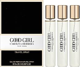 Carolina Herrera Good Girl Travel - Duftset (Eau de Parfum Mini 3x20ml) — Bild N2