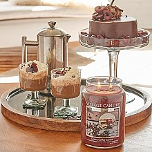 Duftkerze Cherry Coffee Cordial - Village Candle Cherry Coffee Cordial Petite Glass Jar — Bild N4