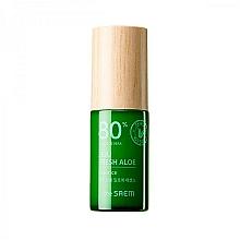 Düfte, Parfümerie und Kosmetik Feuchtigkeitsspendende Gesichtsessenz mit 80% Aloe Vera-Saft - The Saem Jeju Fresh Aloe Essence