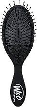 Düfte, Parfümerie und Kosmetik Entwirrbürste - Wet Brush Pro Midi Blackout