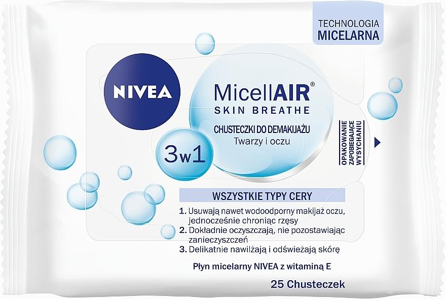 Abschminktücher - Nivea Aqua Effect — Bild N1