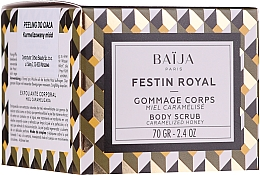 Düfte, Parfümerie und Kosmetik Feuchtigkeitsspendendes und pflegendes Körperpeeling mit Honigextrakt und Zuckerkörnern - Baija Festin Royal Body Scrub