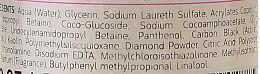 Entgiftendes und erfrischendes Mizellengel zum Abschminken mit Diamantpulver, Aktivkohle und weißem Ton - Bielenda Carbo Detox Micellar Gel — Bild N4