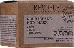 Düfte, Parfümerie und Kosmetik Nährende Schlammmaske für das Gesicht mit Hafer-, Chiaöl und Quinoa-Extrakt - Revuele Nourishing Mud Mask