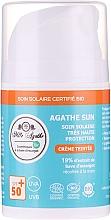 Düfte, Parfümerie und Kosmetik Sonnenschutzcreme mit Schneckenschleimextrakt SPF 50+ - Mlle Agathe Sun SPF 50+