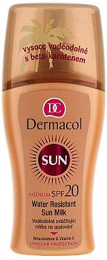 Wasserfeste Sonnenschutzmilch SPF 20 - Dermacol Water Resistant Sun Milk SPF 20 — Bild N1