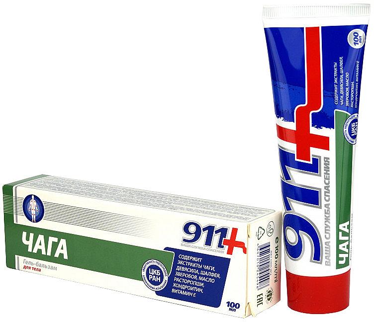 Gel-Balsam für die Gelenke mit Chaga-Extrakt - 911 — Bild N1