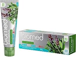Düfte, Parfümerie und Kosmetik Erfrischende Zahnpasta - Biomed Biocomplex