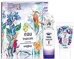 Düfte, Parfümerie und Kosmetik Sisley Eau Tropicale - Duftset (Eau de Toilette 50ml + Körperlotion 50ml)