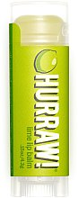 Düfte, Parfümerie und Kosmetik Lippenbalsam mit Limettenöl - Hurraw! Lime Lip Balm