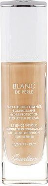 Foundation - Guerlain Blanc De Perle Essence Infused Brightening Foundation SPF 25 — Bild N1