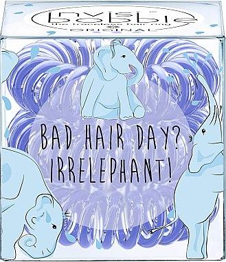 "Haargummis ""Bad Hair Day? Irrelephant!"" 3 St. - Invisibobble Bad Hair Day? Irrelephant! — Bild N1"