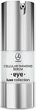 Düfte, Parfümerie und Kosmetik Pflegendes Anti-Aging Augenkonturserum - Lambre Luxe Collection Cellular Diamond