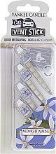 Düfte, Parfümerie und Kosmetik Auto-Lufterfrischer Midnight Jasmine Duftstick - Yankee Candle Midnight Jasmine Car Vent Sticks