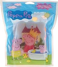 Düfte, Parfümerie und Kosmetik Kinder-Badeschwamm Peppa Pig Peppa mit Krone rosa - Suavipiel Peppa Pig Bath Sponge