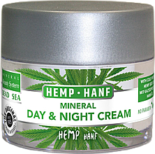 Düfte, Parfümerie und Kosmetik Tages- und Nachtcreme mit kaltgepresstem Hanföl und Mineralien aus dem Toten Meer - Mineral Beauty System Dead Sea Minerals & Cold Pressed Hemp Oil Day And Night Cream
