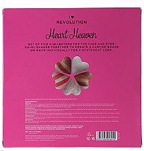 Highlighter-Set - I Heart Revolution Heaven (Highlighter/5x10g) — Bild N2