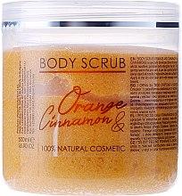 Düfte, Parfümerie und Kosmetik Körperpeeling mit Orange und Zimt - Hristina Cosmetics Sezmar Professional Body Scrub Orange Cinnamon