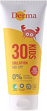 Düfte, Parfümerie und Kosmetik Sonnenschutzlotion für Kinder SPF 30 - Derma Sun Kids Lotion SPF30