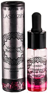 LA Splash Vanishing Potion No.33 Dose of Rose - Wasserfester Make-Up Entferner Rose — Bild N1