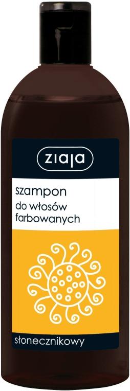 Shampoo für coloriertes Haar mit Sonnenblume - Ziaja Shampoo  — Bild N1