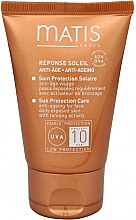 Düfte, Parfümerie und Kosmetik Anti-Aging Sonnenschutzcreme für das Gesicht SPF 10 - Matis Réponse Soleil Anti-Ageing Sun Protection Care
