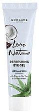 Düfte, Parfümerie und Kosmetik Erfrischendes Gesichtsgel mit Aloe Vera und Kokosnusswasser - Oriflame Love Nature Gel