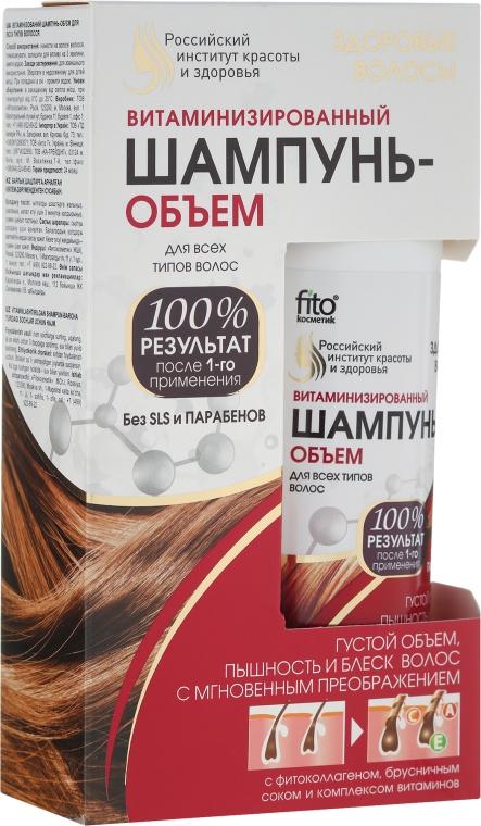Volumen-Shampoo mit Vitaminen - Fitokosmetik — Bild N1