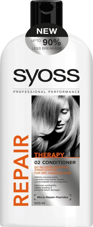 Haarspülung für trockenes und strapaziertes Haar - Syoss Repair Therapy — Bild N1