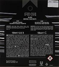 Axe Black - Duftset (Eau de Toilette/100/ml + Deospray/150ml) — Bild N2