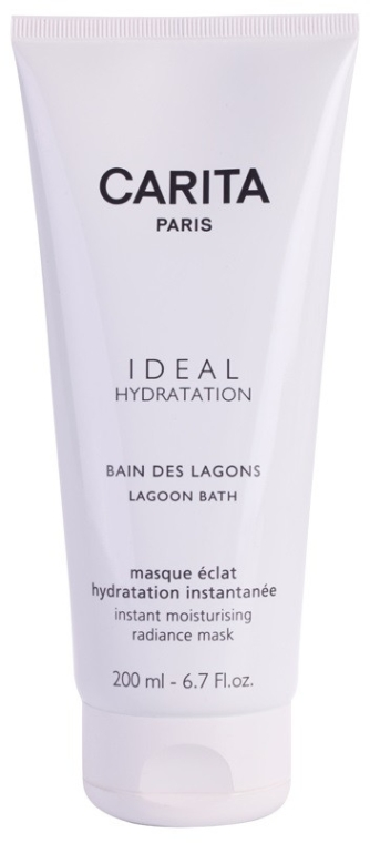 Feuchtigkeitsspendende Intensivkur für trockene Haut - Carita Ideal Hydration Lagoon Bath Instant Moisturising Radiance Mask — Bild N2