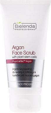 Gesichtspeeling mit Arganöl und pflanzischen Stammzellen - Bielenda Professional Face Program Argan Face Scrub — Bild N1