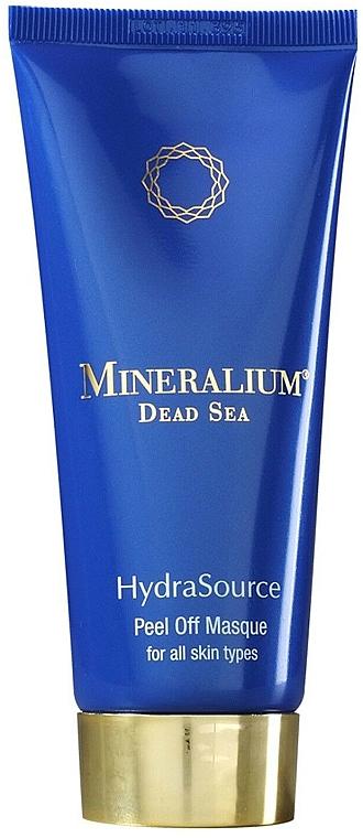 Feuchtigkeitsspendende Peel-Off-Maske für alle Hauttypen - Mineralium Hydra Source Peel Off Masque
