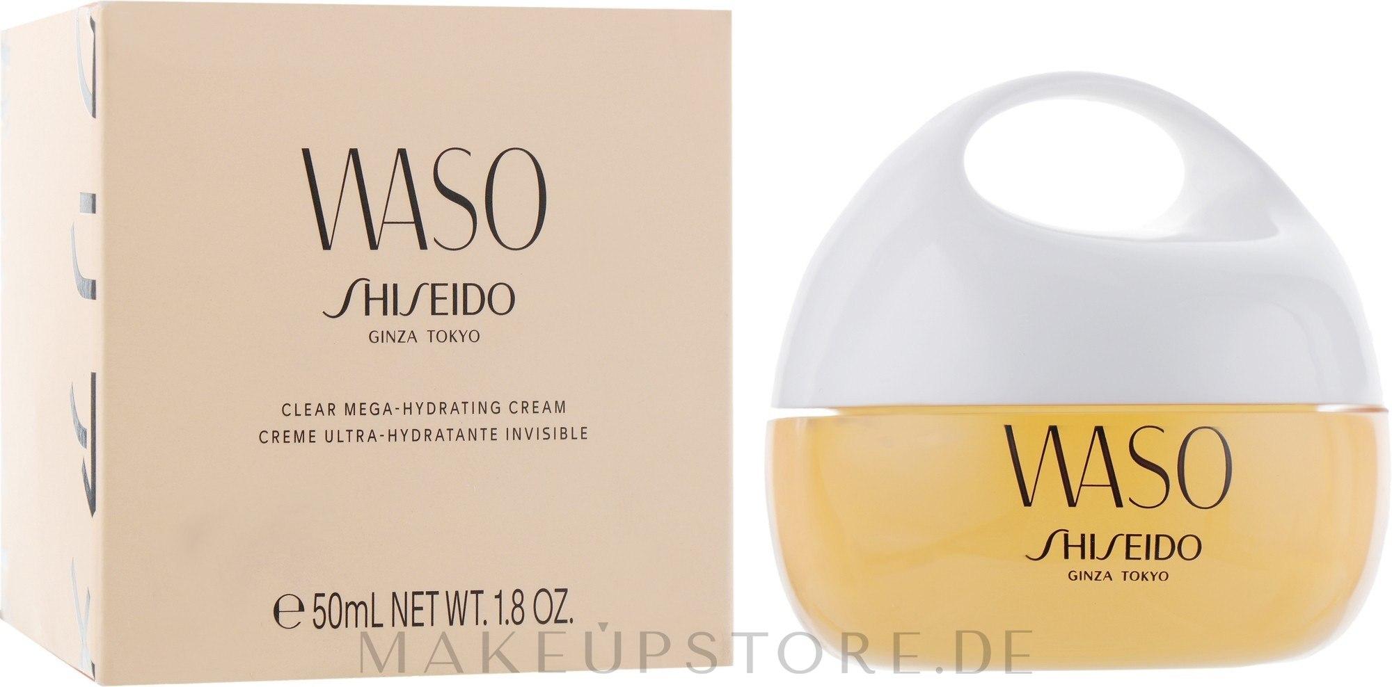 Feuchtigkeitsspendende Gesichtscreme - Shiseido Waso Clear Mega-Hydrating Cream — Bild 50 ml