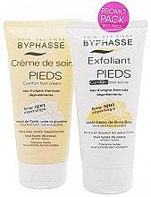 Düfte, Parfümerie und Kosmetik Fußpflegeset - Byphasse Home Spa (Fußcreme 150ml + Fußpeeling 150ml)