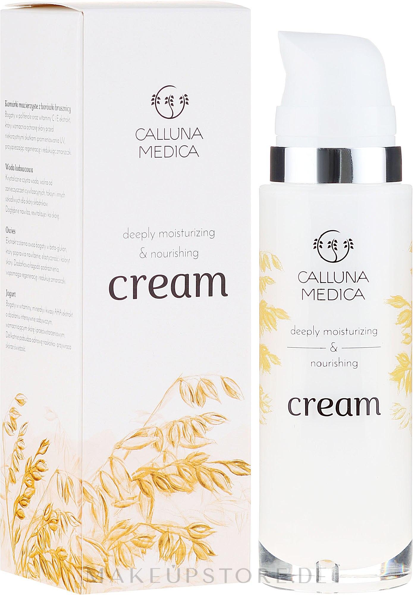 Feuchtigkeitsspendende Gesichtscreme - Calluna Medica Moisturizing Face Cream — Bild 30 ml