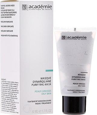Tiefenreinigende Gesichtsmaske für ölige und unreine Haut mit Kaolin und Silica - Academie Purifying Mask — Bild N1