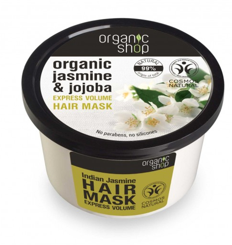 Haarmaske mit Jasmin und Jojoba - Organic Shop Organic Jasmine and Jojoba Hair Mask — Bild N1