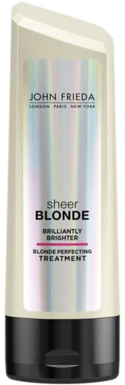 Aufhellende Haarspülung für blondes Haar - John Frieda Sheer Blonde Brilliantly Brighter Treatment — Bild N1
