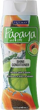 Haarspülung für glänzendes Haar - Freeman Papaya and Lime Shine Conditioner — Bild N1